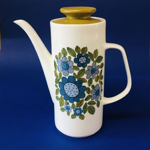J & G Meakin Studio - Coffee Pot & Lid - Topic 60s
